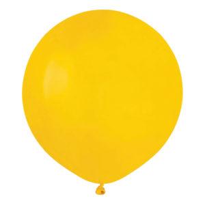 Ballonger Gula Runda Stora - 50-pack