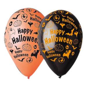 Ballonger Happy Halloween - 50-pack