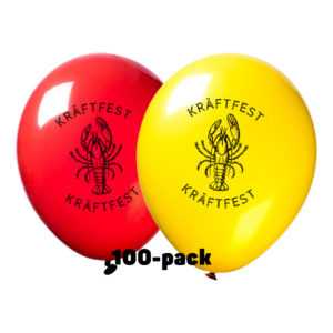 Ballonger Kräftfest - 100-pack