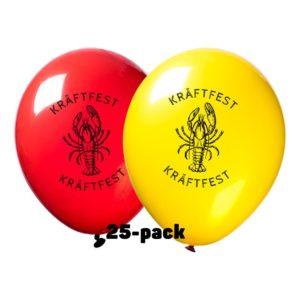 Ballonger Kräftfest - 25-pack