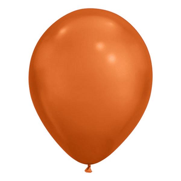 Ballonger Krom Koppar - 100-pack