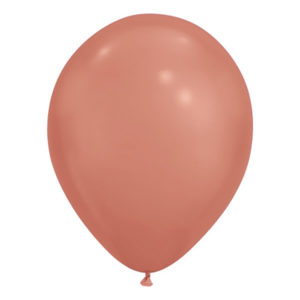 Ballonger Krom Roséguld - 25-pack
