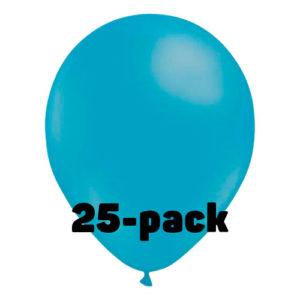 Ballonger Ljusblåa - 25-pack