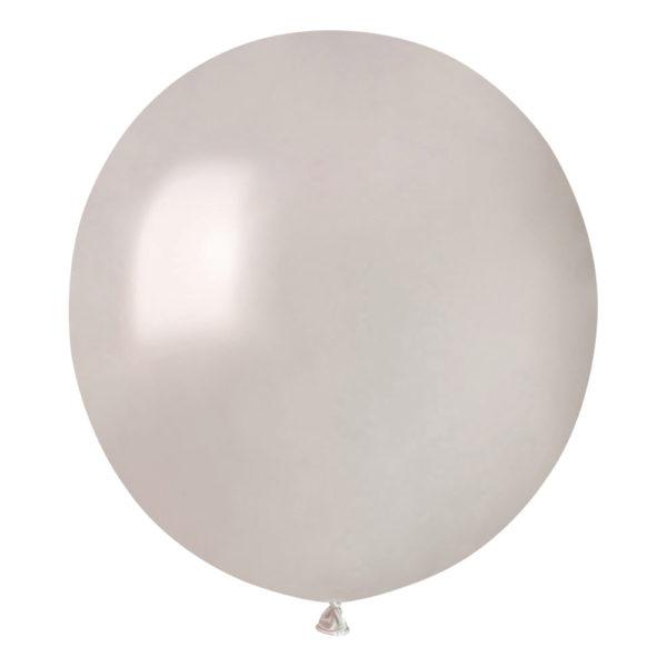 Ballonger Pärlemor Runda Stora - 50-pack