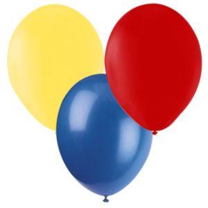 Ballonger Röd, Gul, Blå