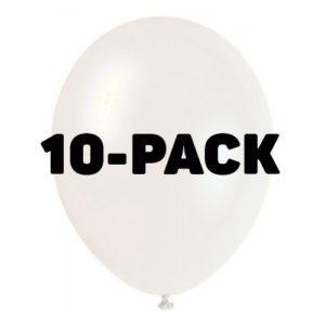 Ballonger Transparenta - 10-pack