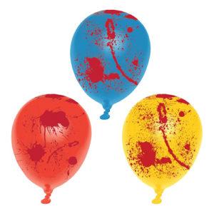 Ballonger med Blodfläckar - 6-pack