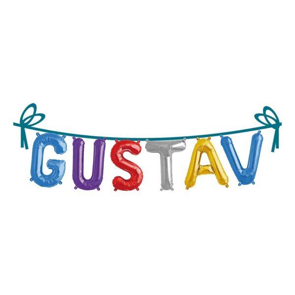 Ballonggirlang Folie Namn - Gustav