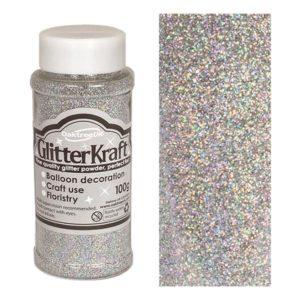 Ballongglitter - Silver