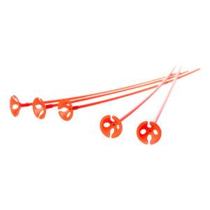 Ballongpinnar Orangea - 50-pack