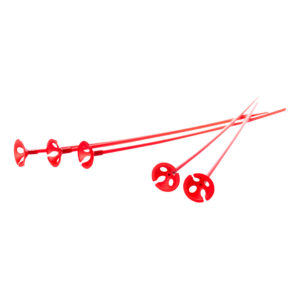 Ballongpinnar Röda - 50-pack