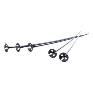 Ballongpinnar Svarta - 25-pack