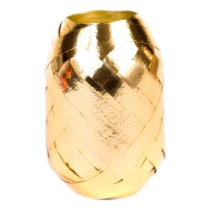Ballongsnöre Metallic Guld - 20m * 7mm
