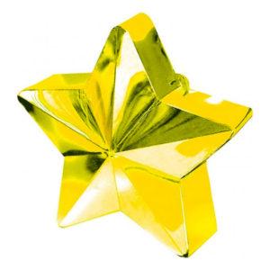 Ballongtyngd Stjärna Guld