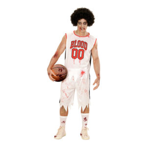 Basketspelare Zombie Maskeraddräkt - Medium