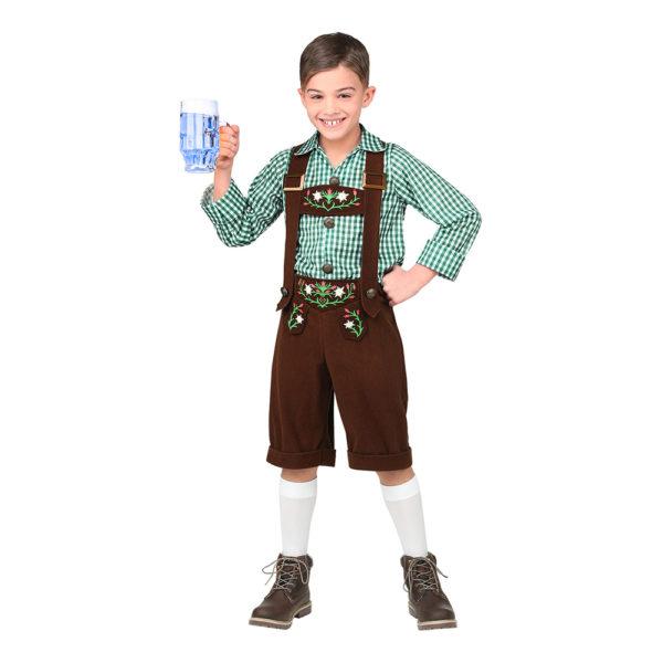 Bavarian Barn Maskeraddräkt - Large