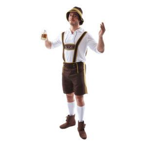 Bavarian Brun Maskeraddräkt - Standard