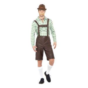 Bavarian Man Maskeraddräkt - Large