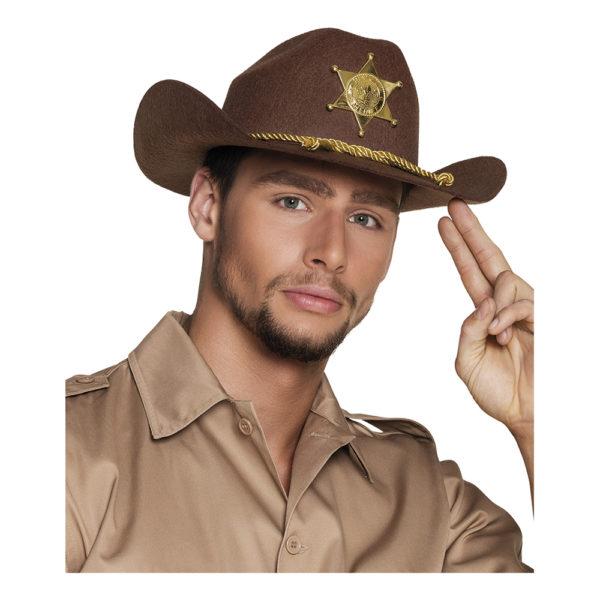 Biträdande Sheriff Hatt - One size
