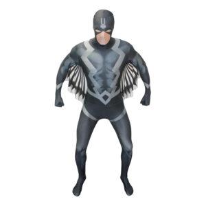 Black Bolt Deluxe Morphsuit Maskeraddräkt - Large