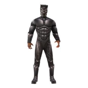 Black Panther Deluxe Maskeraddräkt - X-Large