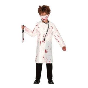 Blodig Läkare Barn Maskeraddräkt - Medium