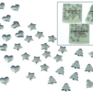 Bordsdekoration Silver - Stjärna