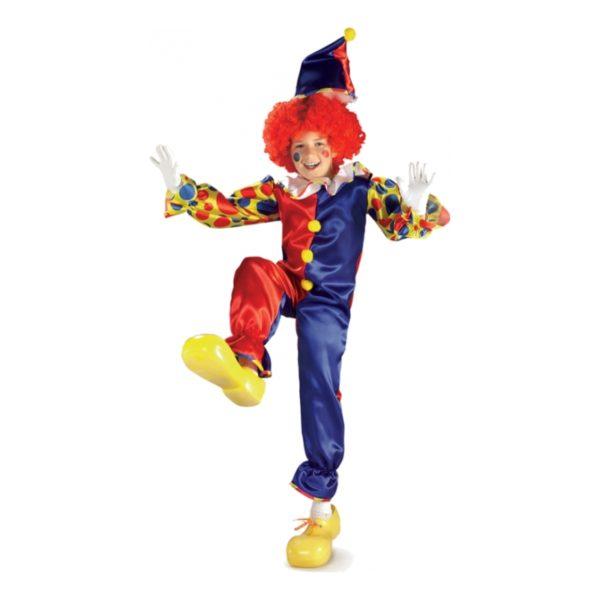 Bubbles the Clown Barn Maskeraddräkt - Large