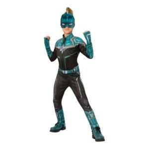 Captain Marvel Kree Barn Deluxe Maskeraddräkt - Large