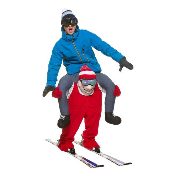 Carry Me Skidåkare Maskeraddräkt - One size