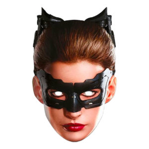 Catwoman Dark Knight Pappmask - One size