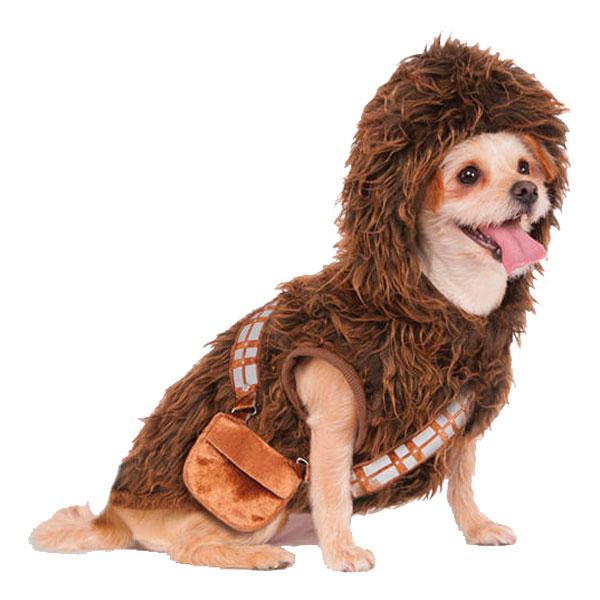 Chewbacca Hund Maskeraddräkt - X-Large