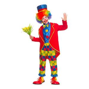 Cirkus Clown Barn Maskeraddräkt - Medium