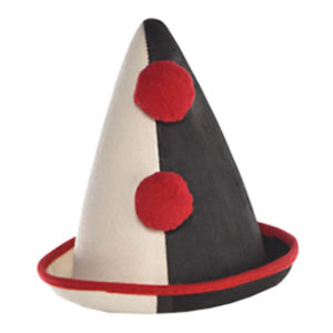 Clownhatt Fransk - One size