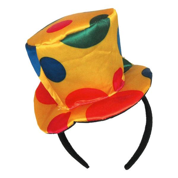 Clownhatt på Diadem - One size