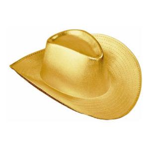 Cowboyhatt Guld - One size