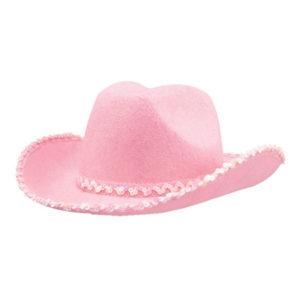 Cowboyhatt Rosa - One size