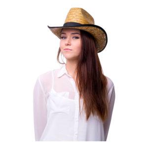 Cowboyhatt Strå - One size