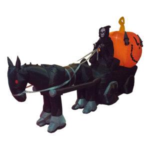 Döden med Häst och Vagn Uppblåsbar