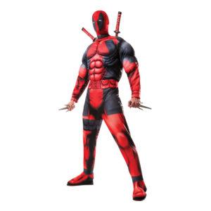 Deadpool Deluxe Maskeraddräkt - X-Large