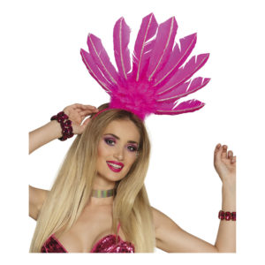 Diadem Samba Neonrosa - One size