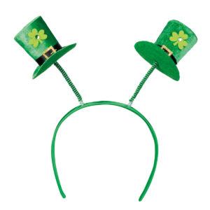 Diadem St Patricks day hattar