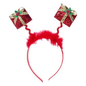 Diadem med Julklappar - One size