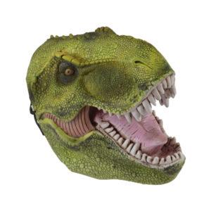Dinosaurie Mask - Grön