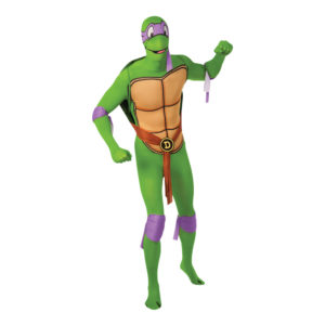 Donatello Second Skin Maskeraddräkt - Medium