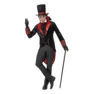 Dracula Halloween Maskeraddräkt - Large