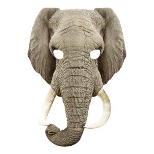 Elefant Pappmask