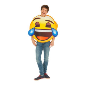 Emoji LOL Maskeraddräkt - One size