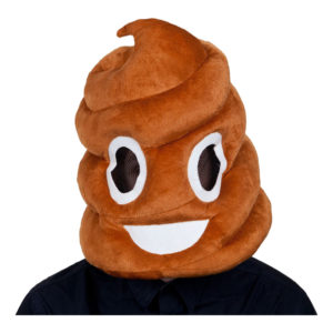 Emoji Pile of Poo Mask - One size