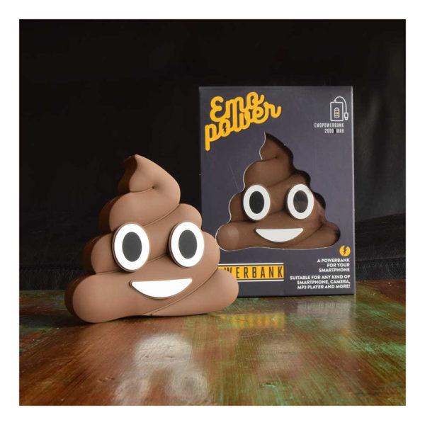 Emoji Powerbank Poop - Poop